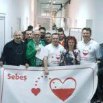 Voluntari din administrația publică locală și din serviciile subordonate au donat astăzi sânge la Spitalul Municipal Sebeș