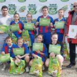 """Echipa Școlii """"Mihail Kogălniceanu"""" din Sebeș este noua vicecampioană națională la fotbal feminin"""