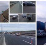 O femeie a decedat după ce mașina pe care o conducea a lovit glisierele și un stâlp de iluminat de pe Autostrada A1, pe sensul de mers Sebeș – Sibiu