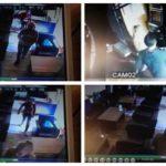 Două femei surprinse de camerele de supraveghere, în timp ce furau portofelul unei cliente, dintr-un local din Sebeș