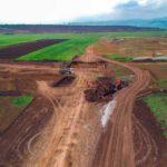 """Început """"timid"""" al lucrărilor la viitorul nod rutier din Sebeș care va face legătura dintre Autostrăzile A10 și A1"""