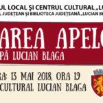 """Premieră la cea de a XXXVIII-a ediție a Festivalului Internațional """"Lucian Blaga"""":  Spectacolul eveniment """"Tulburarea apelor"""" de Lucian Blaga"""