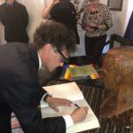 """Ministrul Culturii, George Ivașcu, prezență inedită la Lancrăm, în preambulul Festivalului Internațional """"Lucian Blaga"""" – 2018"""