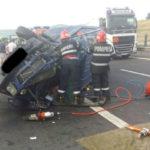 O persoană a decedat iar alte cinci au fost rănite, în urma unui grav accident de circulație petrecut pe Autostrada A1, în zona Apoldu de Sus