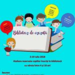 Între 3 și 19 iulie 2018 la Sebeș va fi organizată BIBLIOTECA DE VACANȚĂ