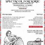 """Duminică, 8 iulie 2018, Parcul Tineretului va fi gaza Spectacolului Folcloric """"Sărbătoarea Portului Tradițional, la Sebeș"""". Vezi programul"""