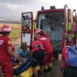 Intervenție a Salvamont și SMURD pentru salvarea unui adolescent de 15 ani, după ce acesta a căzut de pe o potecă la Râpa Roșie