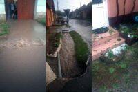 SVSU Sebeș intervine la Răhău unde mai multe gospodării au fost inundate în urma ploii torențiale din această seară