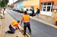 SPAP Sebeș a executat lucrări de reabilitare a carosabilului pe mai multe străzi intens circulate din municipiu