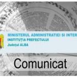 Instituţia Prefectului, din nou în control la bazele de deszăpezire din Alba