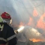 Anexă gospodărească mistiuită de flăcări la Mereteu. Pagubele sunt de peste 25.000 de lei